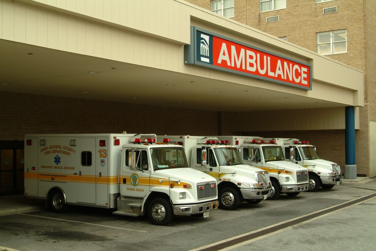 Ambulance Entrance